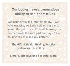 This workshop is simple, safe, effective and beautiful to do. We all have 'self-healing' hands – we just don't know it! Let us give you the tools you can use for for your spiritual awakening. Healing Hands, Self Healing, Health Practices, Spiritual Health, Negative Emotions, Spiritual Awakening, Inner Peace, Healer, It Hurts