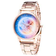 women watches gold diamond bracelet watches bling lady watch Luxury Women Star Crystal Stainless Steel Quartz Analog Wrist Watch