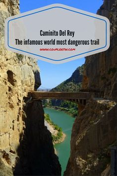 Caminito Del Rey is a fantastic trail for adventure lovers. you will be sorrounded by wonderful views, lovely trails, hanging bridges and wooden footpaths!