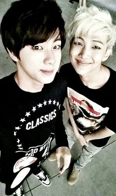 """Jins just """"Dont touch my Namjoon."""""""