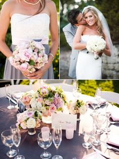 California Wedding with Vintage Details - Style Me Pretty