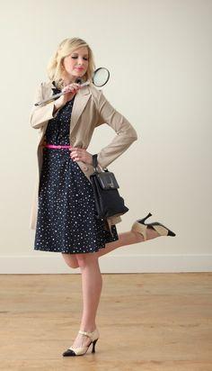 e18ed1d8ce Nancy Drew via Ashley Brooke Designs Nancy Drew Costume
