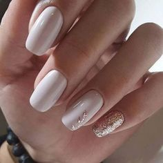 Pretty And Cutest 😳 Short Acrylic Nude Nails And Short Matte Nails Art For Prom And Wedding 💋 - Nail Idea 26 💕𝕴𝖋 𝖀 𝕷𝖎𝖐𝖊, 𝕵𝖚𝖘𝖙 𝕱𝖔𝖑𝖑𝖔𝖜 𝖀𝖘!💕 💕 💕 💕 💕 💕 💕 💕 💕 💕 💕 Everythings about short acrylic nude nails ideas you Bride Nails, Prom Nails, Fun Nails, Elegant Nail Designs, Elegant Nails, Best Nail Designs, Art Designs, Bridesmaids Nails, Ballerina Nails