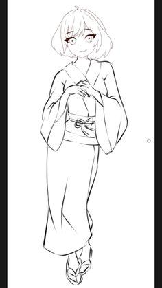 Drawing Cartoon Faces, Anime Drawing Styles, Cartoon Sketches, Art Drawings Sketches Simple, Cartoon Art Styles, Manga Drawing, Cute Drawings, Chica Anime Manga, Manga Girl