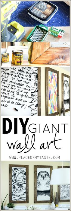 diy giant wall art2
