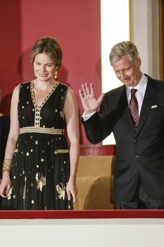 King Philippe and Queen Mathilde attended the first session of the finals of the Queen Elizabeth piano competition