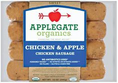 Recipes - Beet & Red Cabbage Borscht w/ Chicken-Apple Sausage - Applegate Chicken Sausage Recipes, Chicken Apple Sausage, Chicken Breakfast, Specific Carbohydrate Diet, Roast Pumpkin, Organic Chicken, Meat Chickens, Skinny Recipes, Organic Recipes