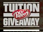 $10,000 - $100,000!  The Dr Pepper Tuition Giveaway October and December 2013