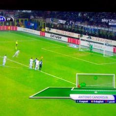 #InterLazio 1-2 #Candreva #Lazio
