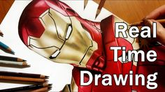 Real Time Drawing: NEW Iron Man - Part #1