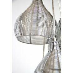 lmpara techo colgante diseo moderno plata lamparas de techo en nurybacom
