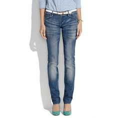 I live in Madewell's Rail Straight Jeans.  They're the perfect cut.
