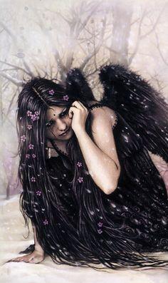 "modern-faerie-tales: ""La Muerte"" Victoria Frances. From Favore 3: Frozen Light"