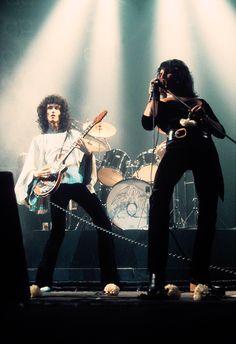 Brian May & Freddie Mercury