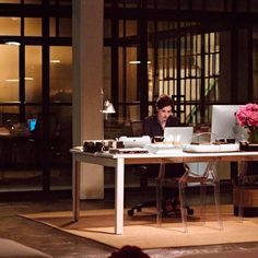 Anne Hathaway in a still from the new Nancy Meyers film The Intern