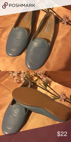 744d80205c4 Shop Women s Daniel Green Blue size 8 Slippers at a discounted price at  Poshmark.