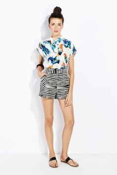 I've been wanting to mix prints in my summer wardrobe forever! I'm def going to try it.