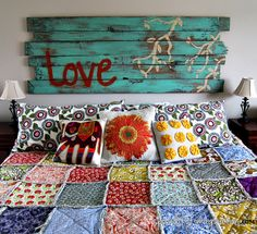 king size rag quilt                                                                                                                                                     More