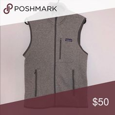 patagonia grey vest excellent condition / like brand new / size: men's small Patagonia Jackets & Coats Vests