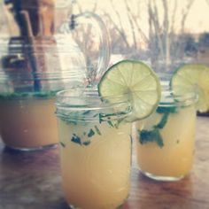 Pineapple Mint Gin Punch
