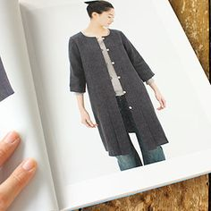 [Envelope Online Shop] Linen dress, Wool dress the linen bird HABERDASHERY Patterns & Books