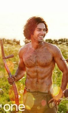 Enjoying watching Aidan Turner in 'Poldark' (& handsome!) on Sunday nights! Don't tell my husband, he thinks we're watching it for the Cornish scenery!
