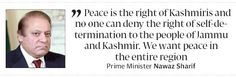 Peace dialogue: Indo-Pak progress tied to Kashmir says PM - The Express Tribune