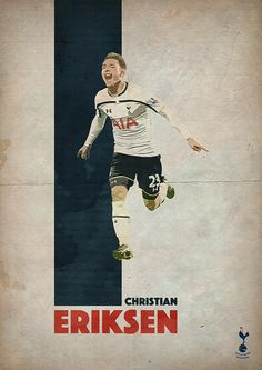 Christian Eriksen of Tottenham Hotspur. My favorite player from the Spurs!