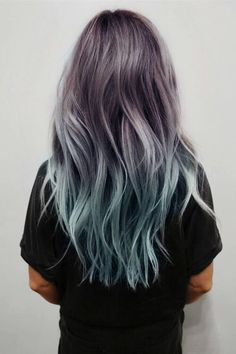 brown grey ombre hair - Αναζήτηση Google
