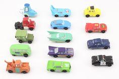 14 unids/set Pixar Cars figuras Mini PVC Figura de Acción de Modelo Juguetes Muñecas Juguetes Clásicos 4-7 cm Envío Gratis