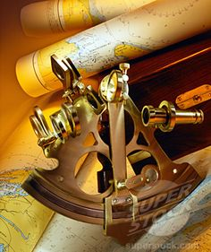 sextant.  I would much rather have this than a GPS for Christmas.