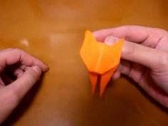 origami cat - YouTube