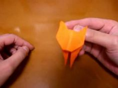 origami cat - YouTube