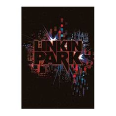 Linkin Park Splatter Fabric Poster - Rock out with this Linkin Park Splatter Fabric Poster. This product is a textile poster with the band's logo over a colorful bright lights splattered background. Poster measures 30 x 40.