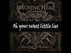 """""""Game Over,"""" a track from the new Machine Head album, 'Bloodstone & Diamonds.' Oh your sweet little lies Oh your sweet little lies I can hear when I hold you. Hard Rock Music, Head Games, Machine Head, Music Hits, Music Quotes, Infj, Music Artists, Rock N Roll, Hard Rock"""