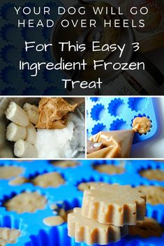 If you don't like spending a ton of money on dog treats, you can make these at home for a fraction of the price and they're healthy!