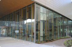 Mur-rideau en verre structurel / en bois - SI5000W - Solar Innovations, Inc.