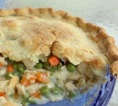 The best chicken pot pie...