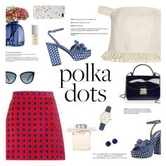 """""""So Dotty: Polka Dots"""" by little-curly-juli ❤ liked on Polyvore featuring Topshop Unique, Miu Miu, Tabitha Simmons, Vision, Furla, Chloé, Givenchy, Kate Spade, LSA International and PolkaDots"""