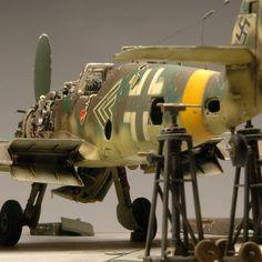 BF-109 G-10 / Erich Hartmann (Fujimi 1/48) by Abmmodel