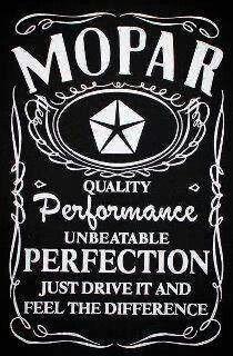 Anyone need a Mopar drink....