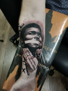 Muhammad ali tattoo trashpolka tattoo trash, trash polka tattoo, photo and video, portrait Forarm Tattoos, Forearm Sleeve Tattoos, Up Tattoos, Friend Tattoos, Cool Tattoos, Male Tattoo, Warrior Tattoos, Sweet Tattoos, Amazing Tattoos