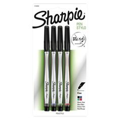Sharpie Pen Fine Point Pens - 4ct - Love these pens - they are in target stores also