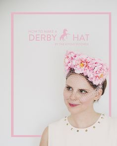 DIY DERBY HAT // The