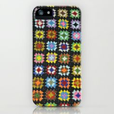 Too Awesome, ordered this today, I am a pushover for Granny Square anything.  Crochet Granny Square iPhone & iPod Case