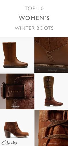 314c629f78bd Clarks Top 10 Womens Boots - Clarks® Shoes Official Site