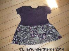 Kleid aus Rock und Shirt / Dress made from skirt and shirt / Upcycling