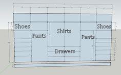 Master Closet Design Plans