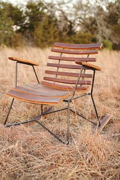 Cask Rocker, handcrafted rocking chair, rustic modern. $595.00, via Etsy.