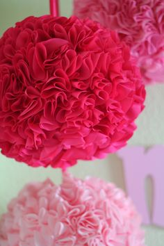 DIY Ruffle Lanterns - Perfect for baby girl nursery